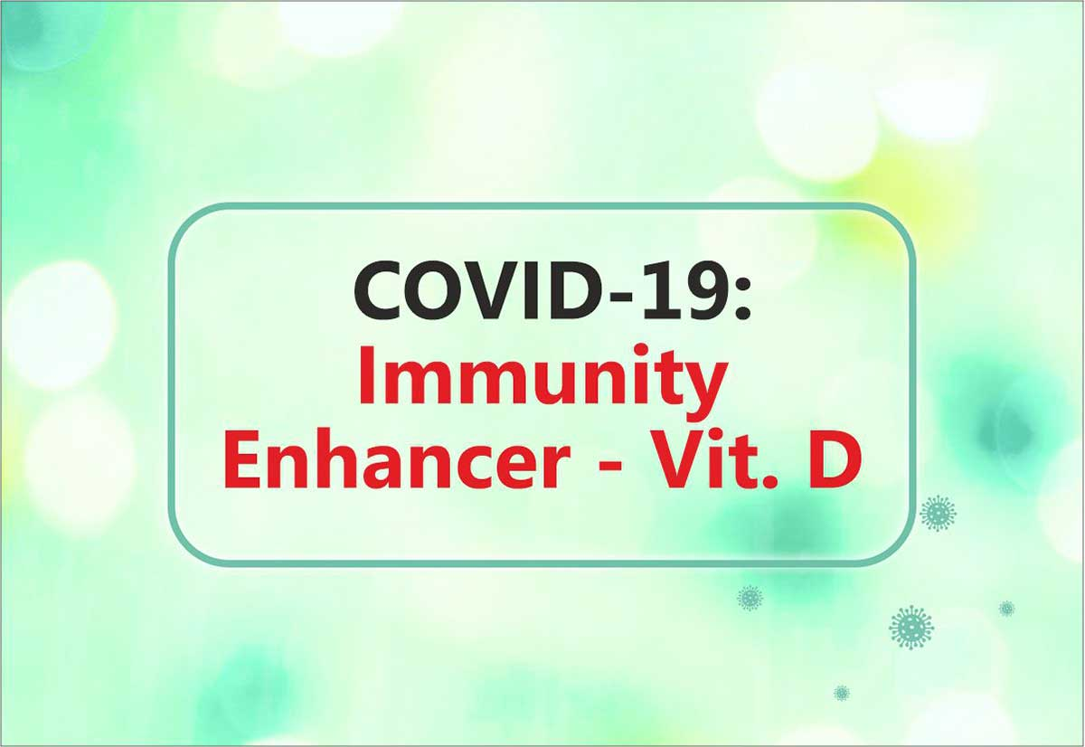 Healthy Vit. D levels could be linked to COVID-19 Survival
