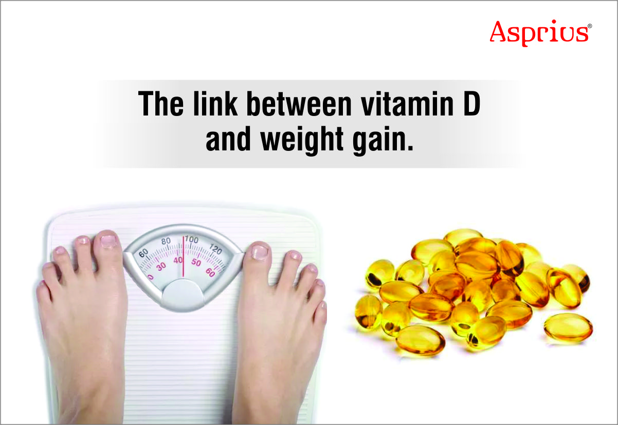 The link between vitamin D and weight gain