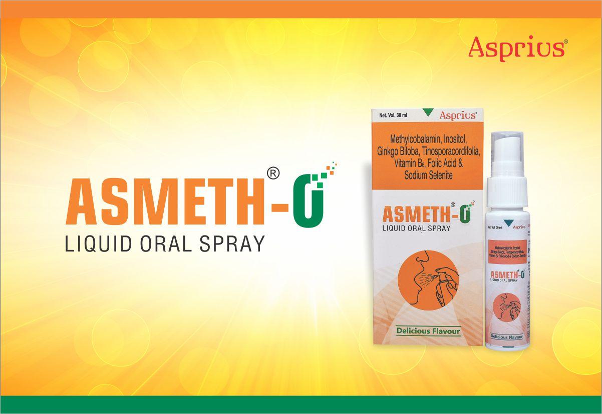 ASMETH-O Vitamin B12 oral spray