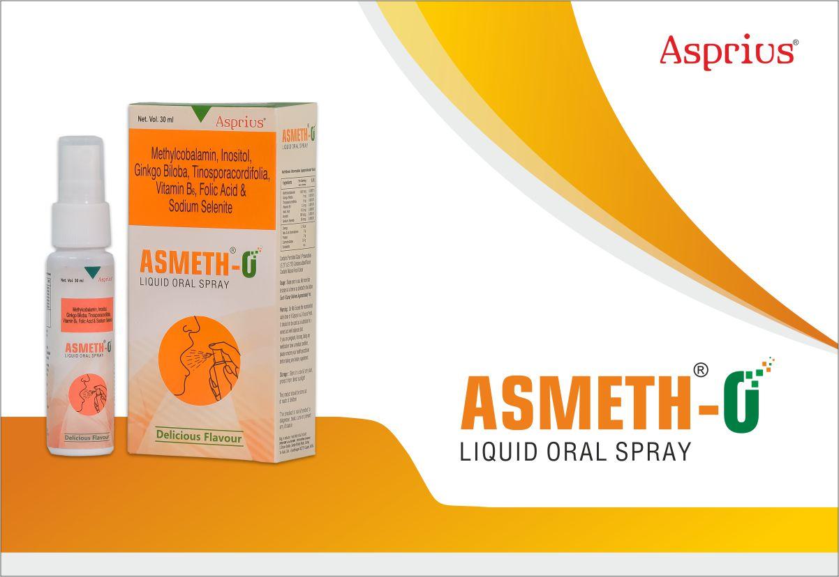 Methylcobalamin – ASMETH-O Vitamin B12 oral spray